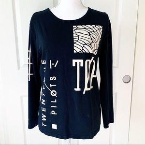 Hotcial Twenty One Pilots Long Sleeve Tee Shirt